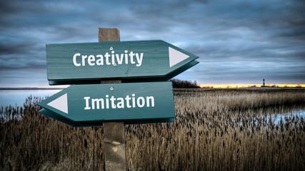 Znak 382 - Kreatywność