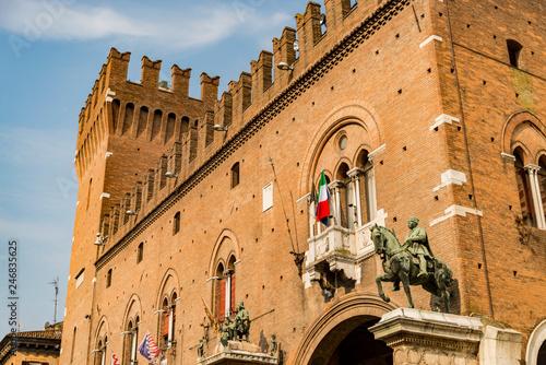 The Square Trento and Trieste in Ferrara - Italy