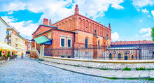 The Old Symagogue Of Krakow, Poland