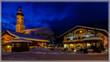 Am Mohrenplatz in Garmisch zur blauen Stunde