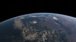 Planet Earth from space 3D illustration (Elements of this image furnished by NASA)