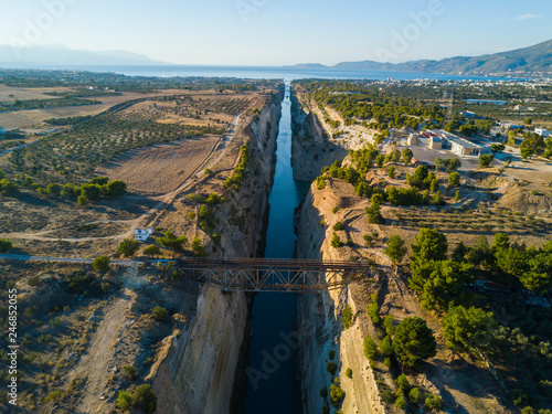 Fotografie, Tablou  Canal de Corinto