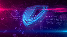 Cyber Security Digital Concept...