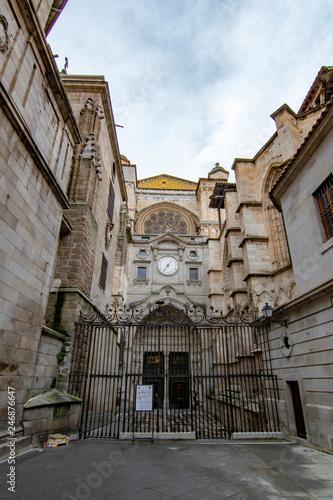 Puerta del Reloj of the Cathedral of Santa María de Toledo