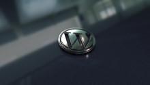 Wordpress Symbol Close Up - Me...
