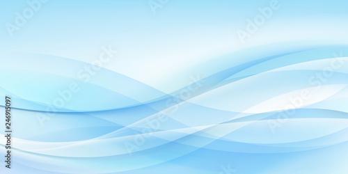 Foto auf AluDibond Licht blau 抽象的な背景