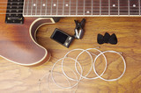 Electric guitar and guitar accessories