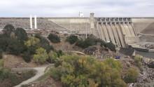 Folsom Dam Spillway Drought