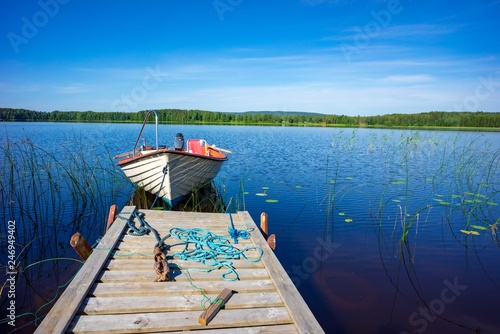 Cuadros en Lienzo  Schweden Glafsfjorden