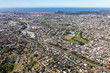 Newcastle NSW australia - Aerial view. NSW second largest city.