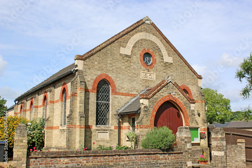 Fotobehang Historisch geb. Historic Railway mission, Ely