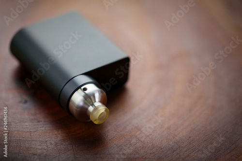 high end rebuildable dripping atomizer with black regulated