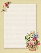 Vintage Floral Illustration Pr...