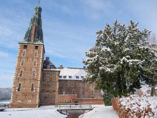 Winter am Schloß Raesfeld