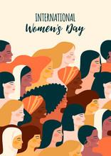 International Womens Day. Vect...