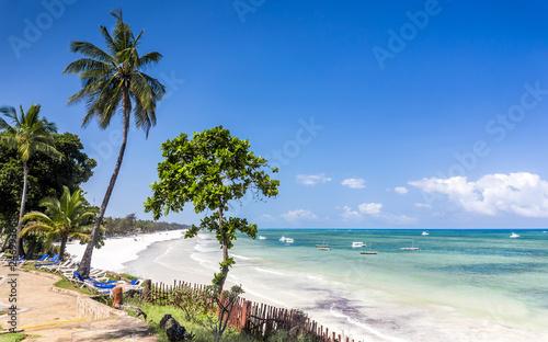 Fotografie, Obraz  Amazing Diani beach seascape, Kenya
