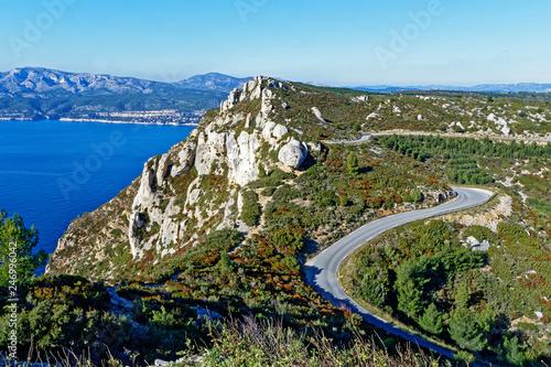 Fotografie, Obraz Routes  des crêtes
