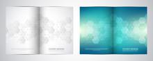 Bi Fold Brochure Template With...