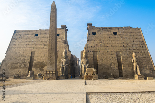 Wall Murals Place of worship Luxor Temple, Egypt