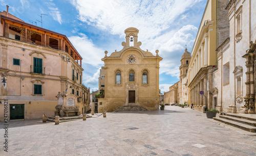 Staande foto Oude gebouw Gravina in Puglia, province of Bari, Apulia, southern Italy.