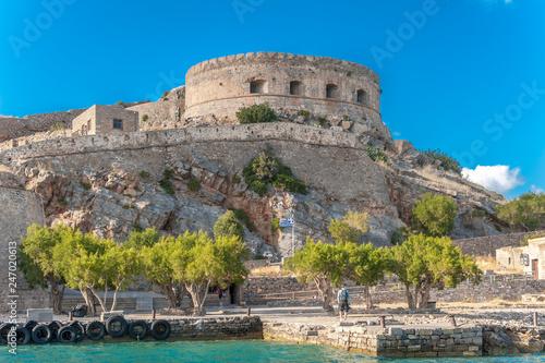 Photo Ehemalige Festung auf der Insel Spinalonga auf Kreta