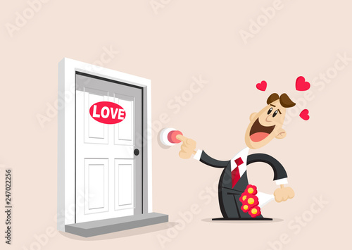 Fotografie, Obraz  Love and valentines day
