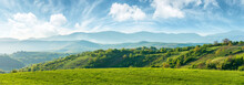 Panorama Of Beautiful Countrys...