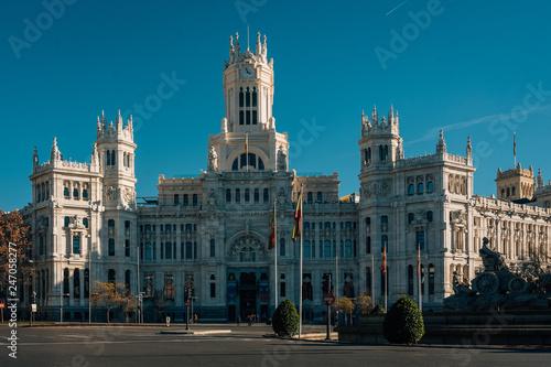The Palacio De Cibeles In Madrid Spain Buy This Stock