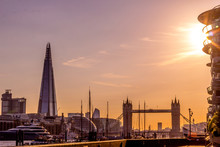 Panorama Of London In The Suns...
