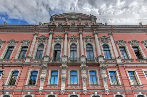 Beloselsky-Belozersky Palace - Saint Petersburg, Russia