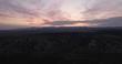 Sunrise Aerial Footage. Near Panguitch UT