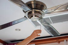 Electric Irony Ceiling Fan And...