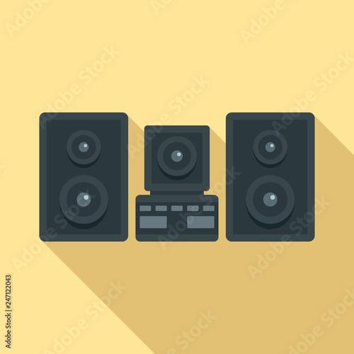 Fotografía  Stereo system icon