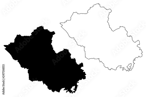 Map Of Northern Ireland Counties.County Fermanagh United Kingdom Northern Ireland Counties Of