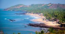 Anjuna Beach In North Goa