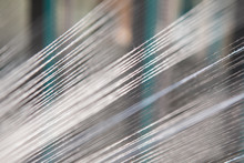 Close Up Macro Detail Of Yarn ...