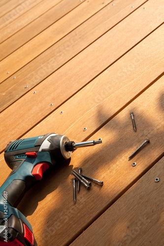 Construction Du0027une Terrasse En Bois Exotique