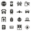 Border Crossing Icons