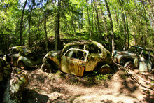 The Abandoned Car Cemetery Hid...