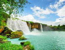 The Dray Nur Waterfall In Dak Lak Province Of Vietnam