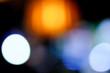 Colorful defocused circular bokeh lights background
