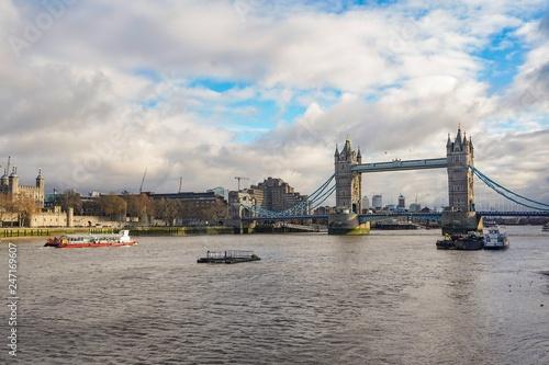Poster London tower bridge in london