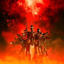 In The Heat Of Battle / 3D Ill...