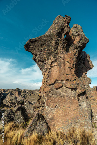 Foto  scenic shape rock