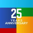 Modern Anniversary Logo Design