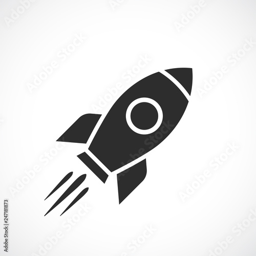 Photo  Space ship vector icon
