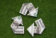 Triangular Recycling Symbol Of...
