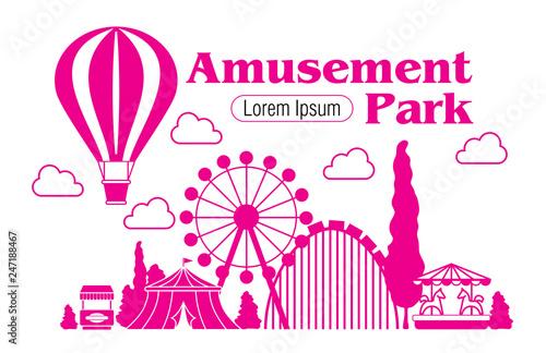 Fotografia Amusement Park  icon