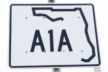 A1A Sign In Florida
