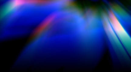 abstract rainbow colorful rays leaks overlay background
